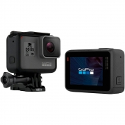 8f80a8cecf7 -25% Câmera Digital Gopro Hero 5 Black à prova d água 12.1MP com Wi-
