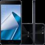 Smartphone Asus Zenfone 4 4GB Memória Ram Dual Chip Android Tela 5.5″ Snapdragon 64GB 4G Câmera dual Traseira 12MP + 8MP Câmera Frontal 8MP – Preto