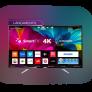 Smart TV LED Ambilight 55″ Philips 55PUG6212/78 Ultra HD 4k com Conversor Digital 4 HDMI 2 USB Wi-Fi 60Hz – Preto