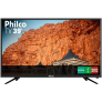TV LED 39″ Philco PTV39N91D HD com Conversor Digital 2 HDMI 2 USB Som Surround 60Hz Preta