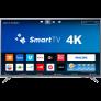 Smart TV LED 50″ Philips 50PUG6513/78 Ultra HD 4k com Conversor Digital 3 HDMI 2 USB Wi-Fi 60hz – Prata