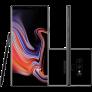 Smartphone Samsung Galaxy Note 9 128GB Nano Chip Android Tela 6.4″ Octa-Core 2.8GHz 4G Câmera Dupla 12MP 6GB RAM + Caneta S Pen com Controle Remoto – Preto