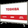 TV LED 32″ Toshiba 32L1800 HD com Conversor Digital 3 HDMI 1 USB 60Hz – Grafite