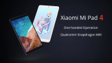 Tablet Xiaomi Mi Pad 4 3GB RAM 32GB ROM Tela 8″ MIUI 9 Snapdragon 660 Android