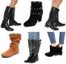 Saldão de botas femininas Via Uno