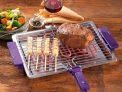 Churrasqueira Elétrica com Gelha Removível – Anurb Platinum Grill Plus