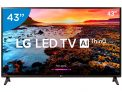 "Smart TV LED 43"" LG Full HD 43LK5750 – WebOs Conversor Digital Wi-Fi 2 HDMI 1 USB"