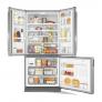 Geladeira Brastemp Frost Free Side Inverse 540 litros cor Inox com Ice Maker