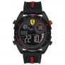 Relógio Scuderia Ferrari Masculino Borracha Preta – 830548