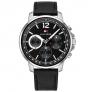 Relógio Tommy Hilfiger Masculino Couro Preto – 1791544