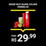 Mixer Cadence Fast Blend Colors 2 Velocidades Vermelho – 170W
