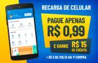 Pague R$0,99 e Ganhe R$15 em Créditos no RecargaPay para Recarregar Celular da operadora Tim, Oi ou Claro