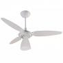 Ventilador Teto Ventisol Wind Light Lustre 3vel Branco 110v