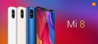 Smartphone Xiaomi Mi 8 4G 6GB RAM 128GB ROM Snapdragon 845 Câmera Traseira Dupla 12MP Frontal 20MP Android