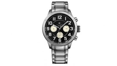 216904c80d315 Relógio Tommy Hilfiger Masculino Aço – 1791077 – TO00002445 – De R  650