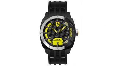 2e43f5b3d84b6 Relógio Ferrari Masculino Silicone Preto – 830204 – FR00000098 – De R   490