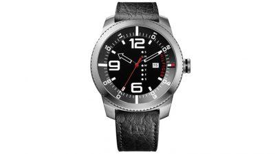 63b3cb5a87ca0 Relógio Tommy Hilfiger Masculino Couro Preto – 1791014 – TO00002278 – De R   450