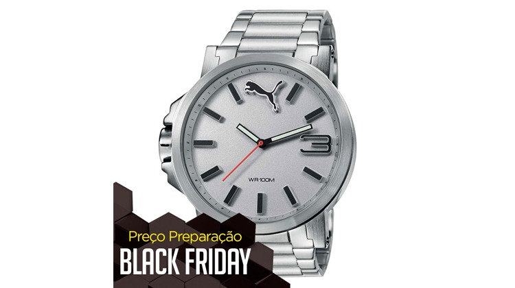 24b242cb319 Relógio Masculino Analógico Puma UIltrasize