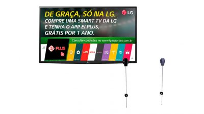 """6c816098e38 Smart TV LED 49″ LG Ultra HD 4K 49UH6000 3 HDMI 1 USB com webOS 3.0 60Hz +  Suporte Universal com trava de segurança para TVs LCD LED Smart 3D 10"""" a  71"""" ..."""