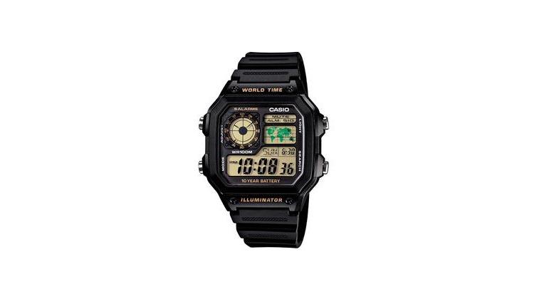 c8413b633ea ... Relógio Masculino Digital Casio Multifunção AE1200WH1BVDF – Preto. IR  PARA A LOJA (COMPRAR) · Relógios