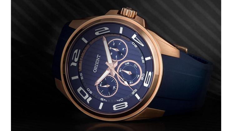 Relógio Masculino Orient Multifunção Esportivo Azul MRSPM001-D2DX - Ofertas  24 Horas - Cupom de Desconto + Ofertas 24 horas por dia! 471a583e25