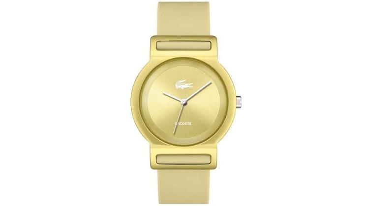Relógio Lacoste Unissex Borracha Bege - 2020048 - Ofertas 24 Horas ... 3b1f8ce1d5
