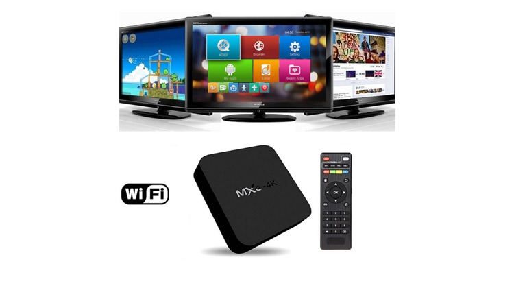 tv box hd android 4 4 dlna airplay smart tv com internet youtube netflix jogos e filmes. Black Bedroom Furniture Sets. Home Design Ideas