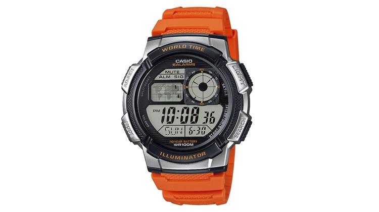 ffded69abee Relógio Casio Masculino Laranja Digital AE-1000W-4BVDF - Ofertas 24 Horas -  Cupom de Desconto + Ofertas 24 horas por dia!