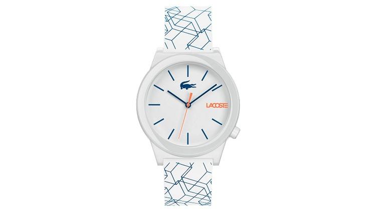 Relógio Lacoste Masculino Borracha Branca - 2010956 - Ofertas 24 ... 1a1bde84a1